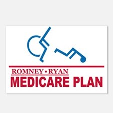 Romney Medicare Plan Postcards (Package of 8)