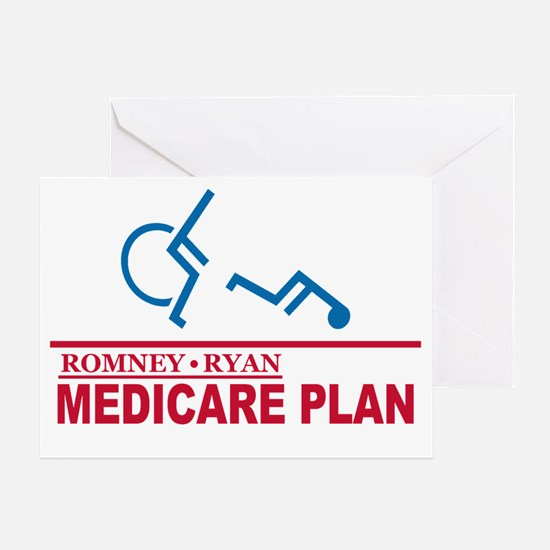 Romney Medicare Plan Greeting Card