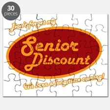 Dont forget my senior discount  Puzzle