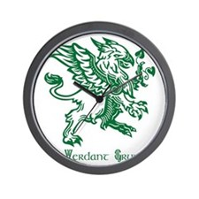 The Verdant Gryphon Wall Clock