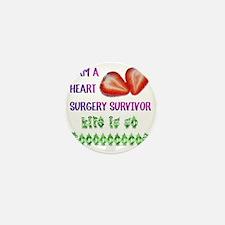 HeartSurgerySurvivor Mini Button