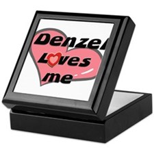 denzel loves me Keepsake Box