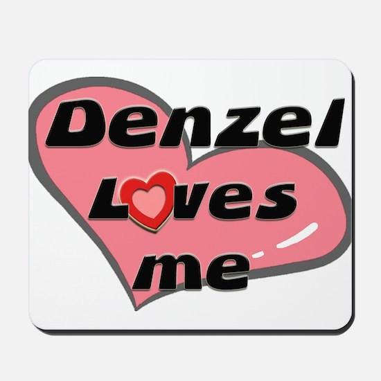 denzel loves me  Mousepad