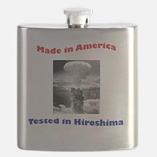 Made in America, Tested in Hiroshima Flask