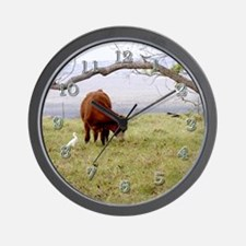Friends Grazing Wall Clock