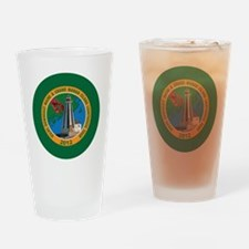 Downeast Maine Lighthouse Tour Drinking Glass