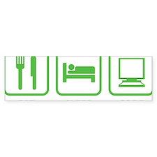 eatSleepCode1C Bumper Sticker
