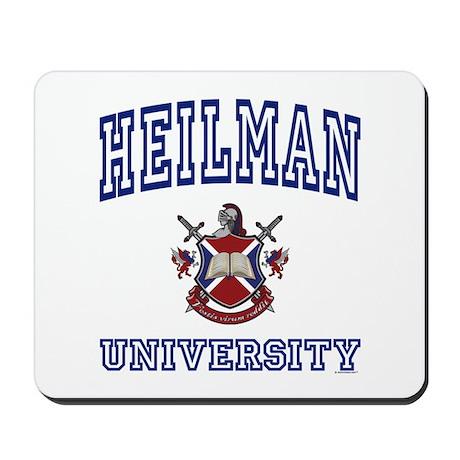 HEILMAN University Mousepad