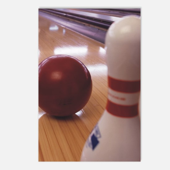 Bowling Alley Postcards (Package of 8)