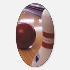 Bowling Alley Decal