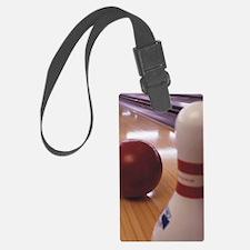 Bowling Alley Luggage Tag