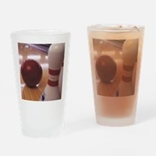 Bowling Alley Drinking Glass