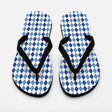 Carolina Blue Argyle Sock Pattern North Flip Flops