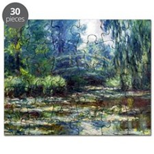 Claude Monet Bridge Puzzle
