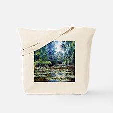 Claude Monet Bridge Tote Bag