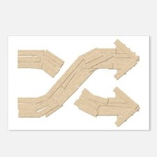 Shuffle Boards Postcards (Package of 8)
