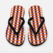 Clemson Argyle Sock Pattern South Carol Flip Flops