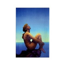 Maxfield Parrish Stars Rectangle Magnet