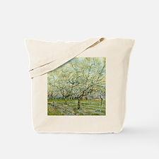 Van Gogh White Orchard Tote Bag