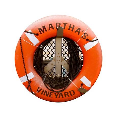 """Marthas Vineyard 3.5"""" Button"""