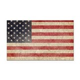 American flag vintage Car Magnets
