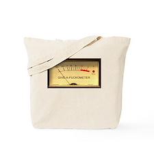 VUMeterDark.psd Tote Bag