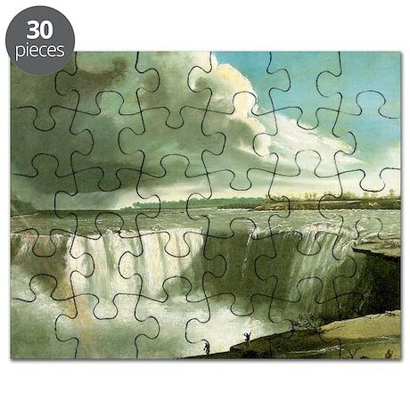 John Vanderlyn Niagara Falls from Table Roc Puzzle