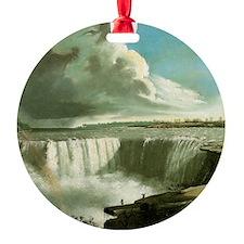 John Vanderlyn Niagara Falls from T Ornament