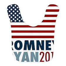 Romney Ryan 2012 American Flag Bib