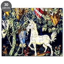 William Morris Unicorn Puzzle