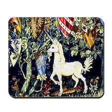 William Morris Unicorn Mousepad