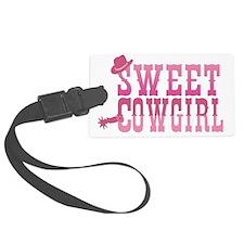 Sweet Cowgil Luggage Tag