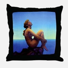 Maxfield Parrish Stars Throw Pillow