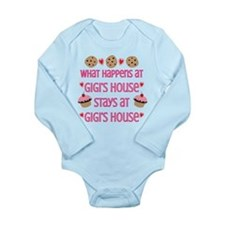 Gigi's House Long Sleeve Infant Bodysuit