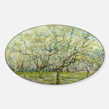 Van Gogh The White Orchard Decal