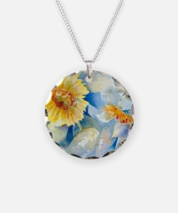 Sunflowers SQ2 Necklace