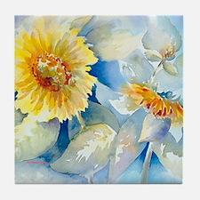 Sunflowers SQ2 Tile Coaster