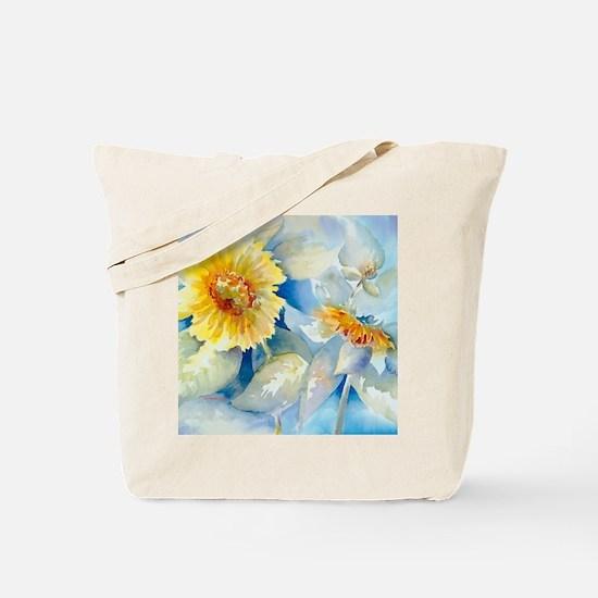 Sunflowers SQ2 Tote Bag