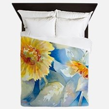 Sunflowers SQ2 Queen Duvet
