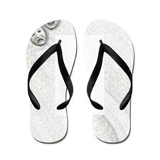 Comedy And Tragedy Flip Flops