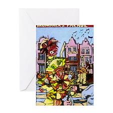 Philadelphia Mummers Parade Greeting Card