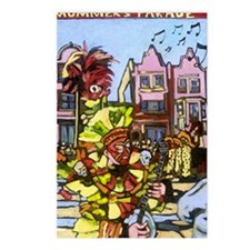 Philadelphia Mummers Para Postcards (Package of 8)