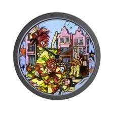 Philadelphia Mummers Parade Wall Clock