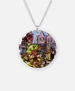 Philadelphia Mummers Parade Necklace