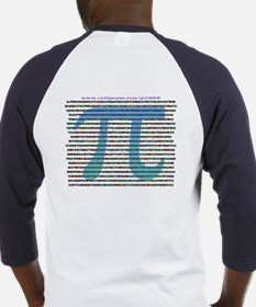 1000 digits of PI - Baseball Jersey