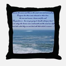 POWER OF THE MOMENT POEM Throw Pillow