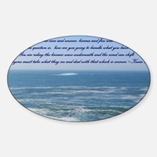 POWER OF THE MOMENT POEM Decal