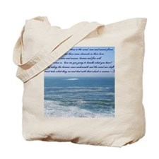 POWER OF THE MOMENT POEM Tote Bag