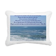 POWER OF THE MOMENT POEM Rectangular Canvas Pillow