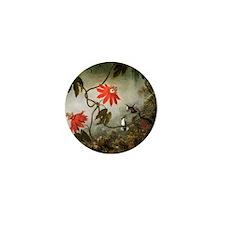 Martin Johnson Heade Passion Flowers a Mini Button